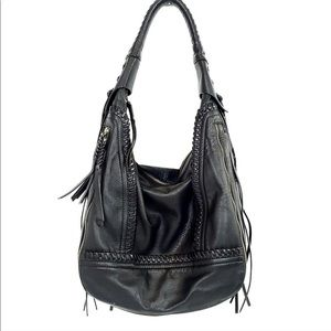 Black Hobo Oryany Purse Handbag Shoulder Bag